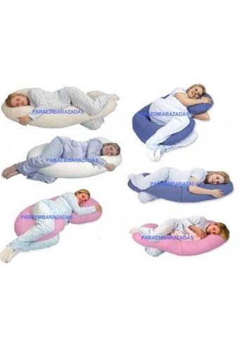 Cojines almohadas de embarazo y lactancia - Almohadas para embarazo ...
